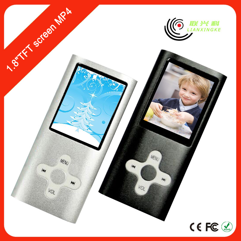 20 hours Long time standby player photos mp3 with FM stereo radio mp4 players