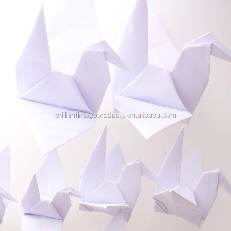 Artificial Wedding Decorative Hanging White Color Origami Paper