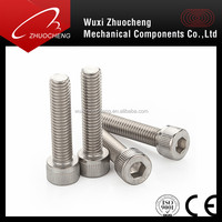 Manufacturer Supply High Quality Stainless Steel Full Thread Hex Socket Head Anchor Bolt M20