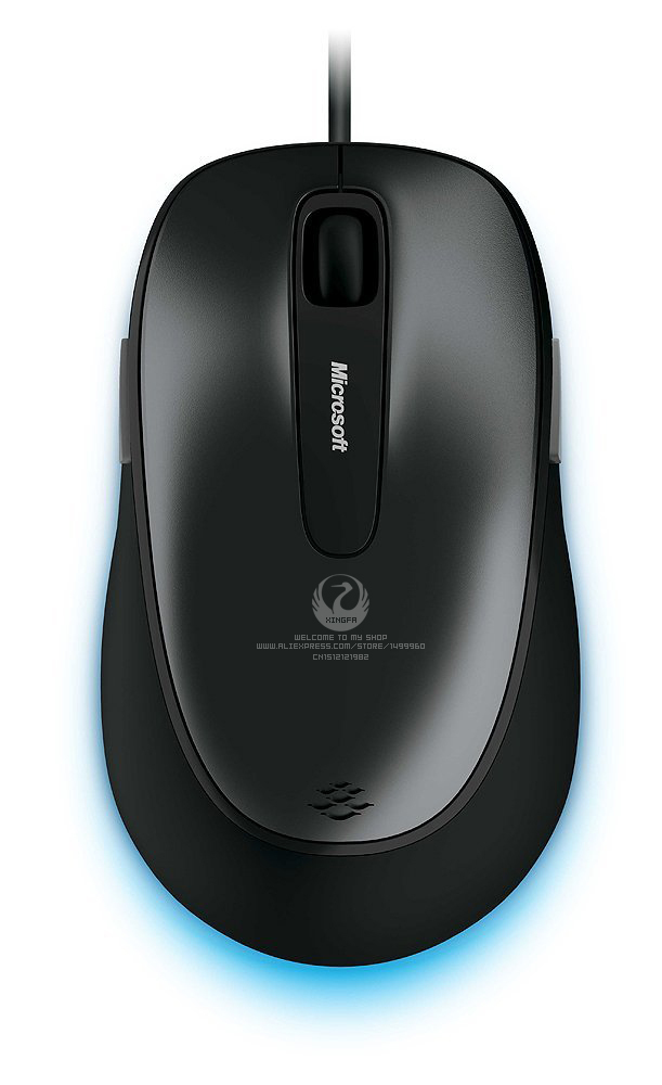 Genuine Original Guaranteed Microsoft Comfort Mouse 4500 3D USB Blue Track Wired Mouse For Desktop Laptop Free Shipping