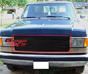 Get Quotations  C B Ford Bronco F Series Pickup Black Billet Grille Grill Insert