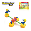 Thinkertoy universal craftsmen dream park blocks kids funny teeterboard toy
