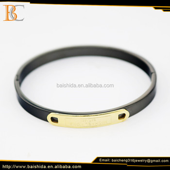 2017 Fashion new design gold plated bangles & bracelet models jewelry with 316l stainless steel for women