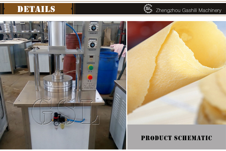 stainless steel automatic pancake making machine