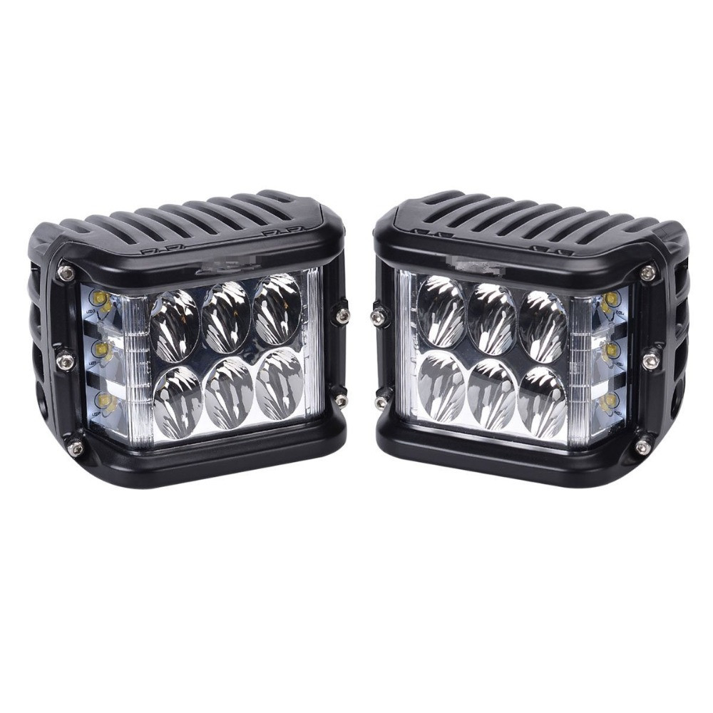 2018 New 45 와트 측 스트로브 Flash Led Work Light Driving Fog Lamp 대 한 4x4Trucks \ % Off-road Vehicles 12 -36 볼트 6000 천개