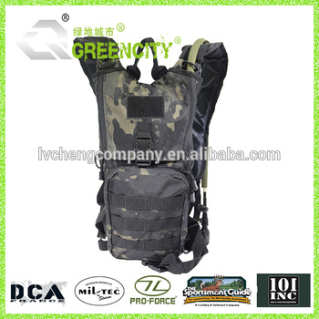 Military camel bag tactical hiking hydration bag