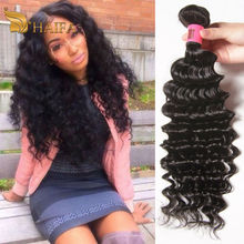 Grade 8A deep wave Indian remy hair 4 bundles deep wave indian hair weave 8 to