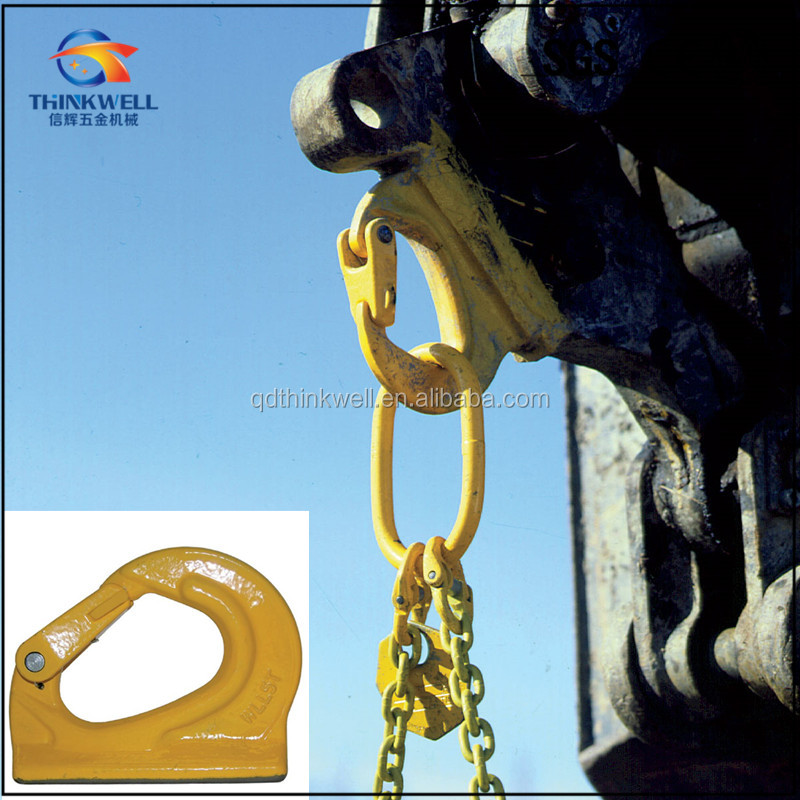 High Strength G80 Weld on Lifting Excavator Hooks