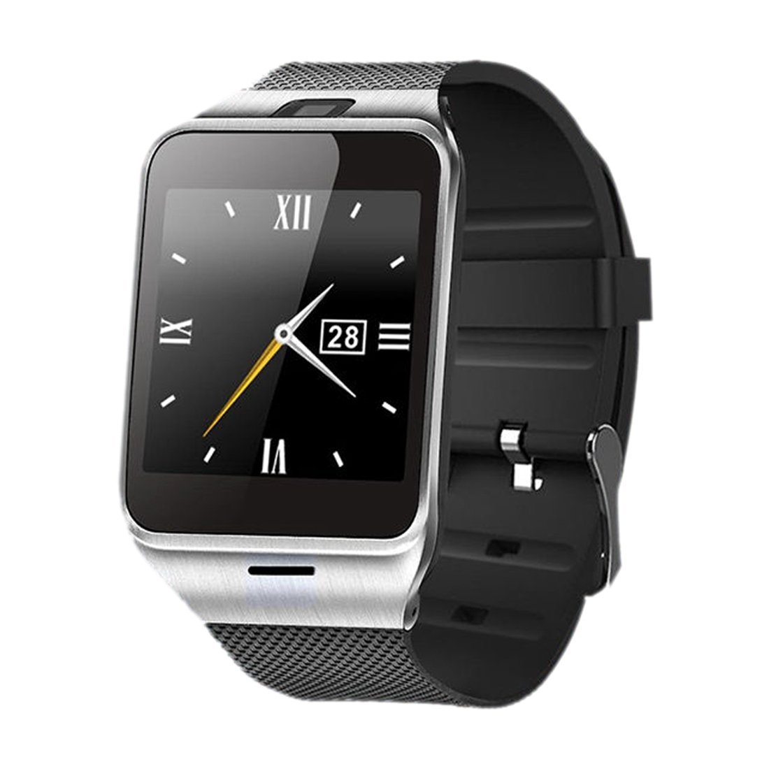 smart watch - SODIAL(R) GV18 NFC-enabled Aplus can be wearable Take Photo Bluetooth smart watch black