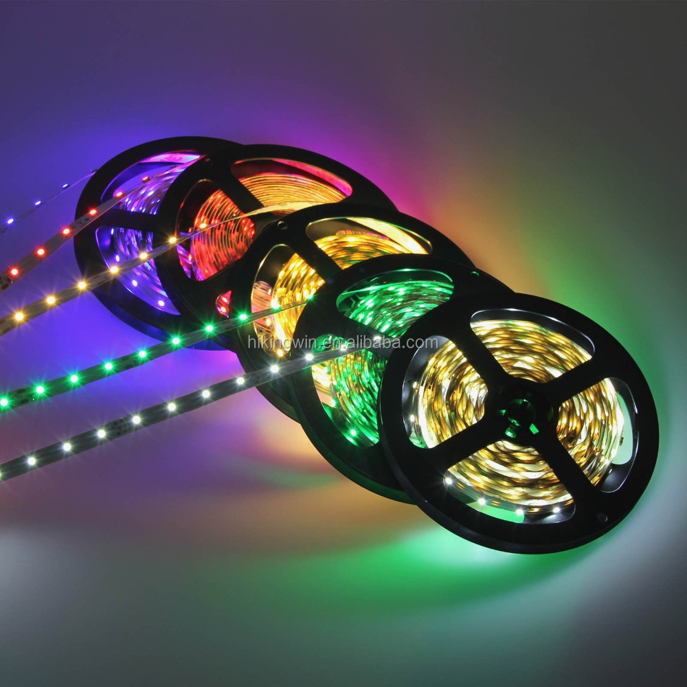 60led m 5 m roll 12 v tira llevada flexible luces Luces led decorativas