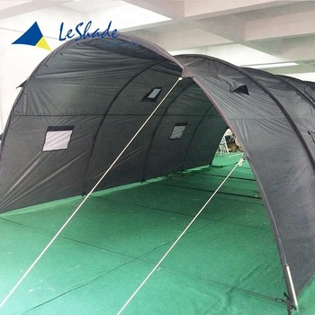 Hot-selling waterproof polyester canvas fabric disaster relief tent
