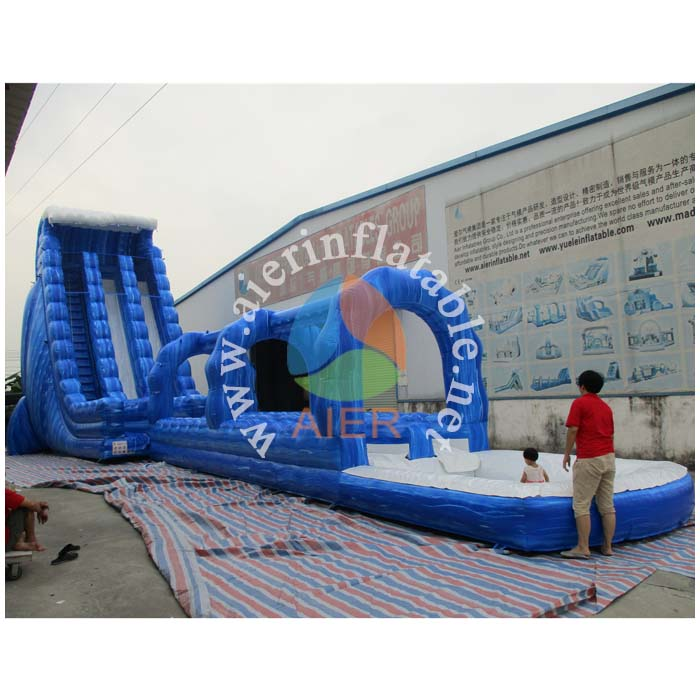 AIER giant inflatable slide, giant inflatable water slide for summer, inflatable jumping slide for sale