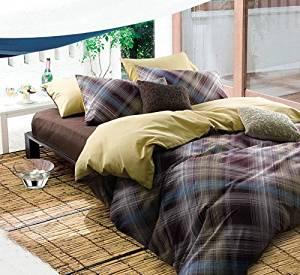Kate Purple Bedding Danish Design Bedding Scandinavian Design Bedding Kids Bedding Teen Bedding, Queen Size