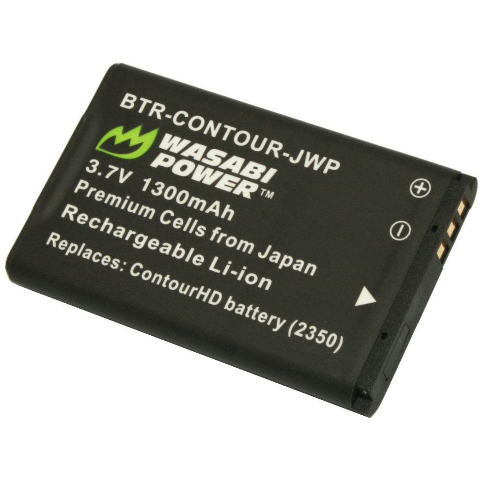 Wasabi Power Battery for Contour 2350, C010410K and ContourHD, ContourGPS, Contour+, Contour+2