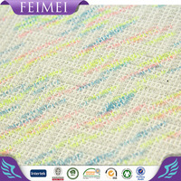 Dty Polyester Space Dyed Melange Single Jersey Knitted Fabric ...