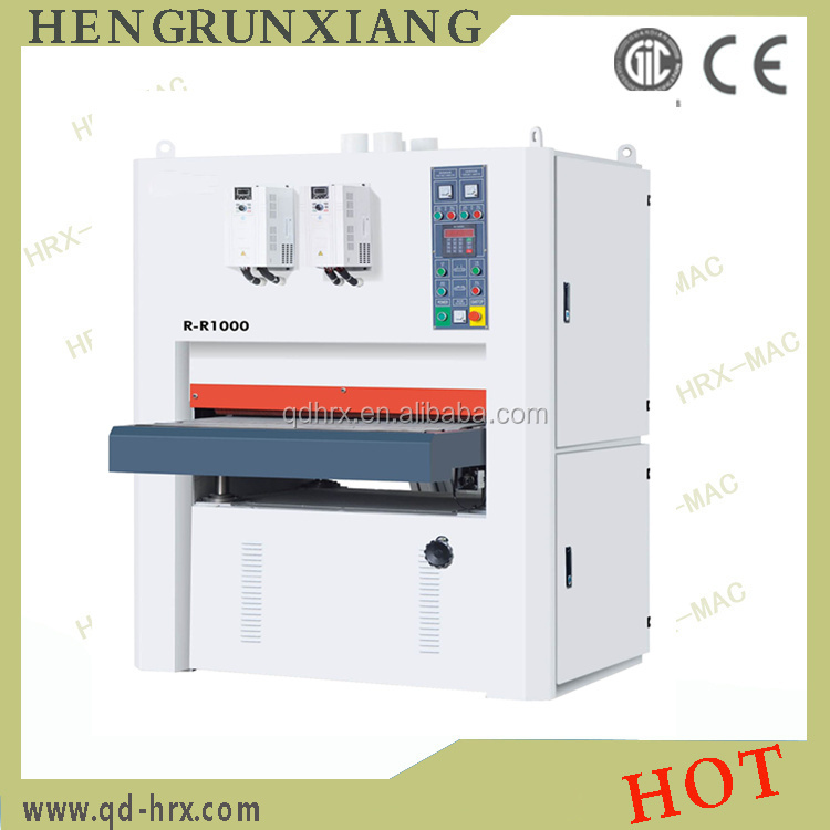 Wide Belt Sander Working Width630mm Plywood Polishing Machine ...