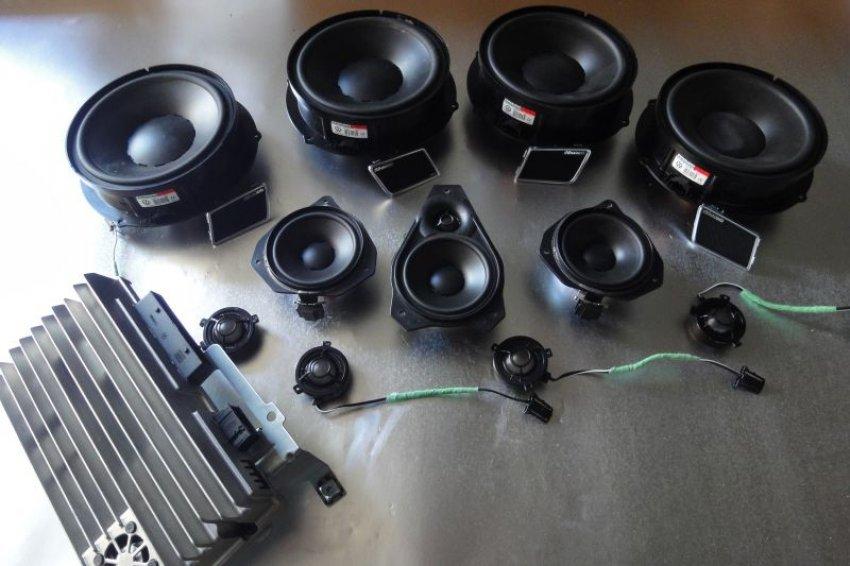 Dynaudio High End Car Audio Speakers System Amp Loudspeaker Sub