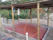 high Quality 8m3 household biogas plant 10m3 biodigestor system 20m3 biogas digester