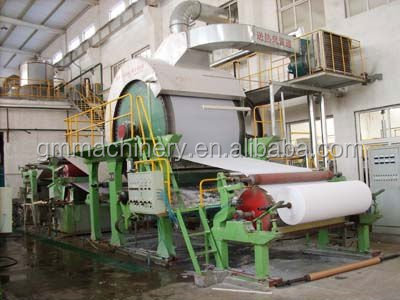 787mm Small Model Tissue Paper making machine with superior quality ! Toilet paper roll making machine Stock For Sale !