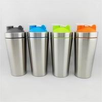 Too Feel metal cups factory direct good shape water bottle shaker cups for protein shakes