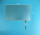 10.1 inch Compatible 4-wire resistive 234mm*142mm ST-101003 touch glass digitizer Screen panel