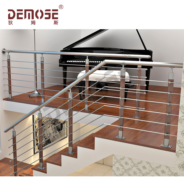 Metal Stairs Railing For Sale / Handrail Post Base Cover