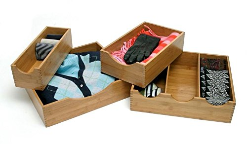 Custom Bamboo Lingerie Storage Box in Any Size