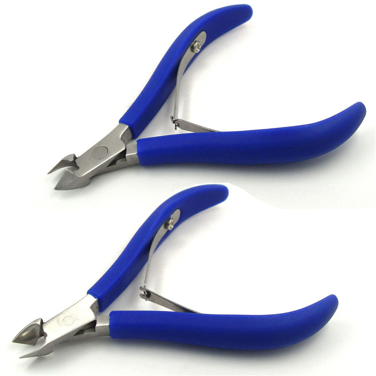 Ingrown Toe Nail Nipper Cutical Nail Nippers Sharp Manicure Cuticle Trimmer Stainless Steel Nail Clipper Cutter Remover