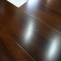 High quality rosewood color smooth Tuan hardwood flooring