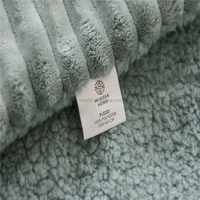 Bedding Soft Warm Winter Blankets Throws - Throw Full King Size For Babies Adults Lamb Velvet Thicken Luxury Washable Warm