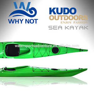 New arrive! Kudo Expedition LLDPE 450cm Single Sea kayak