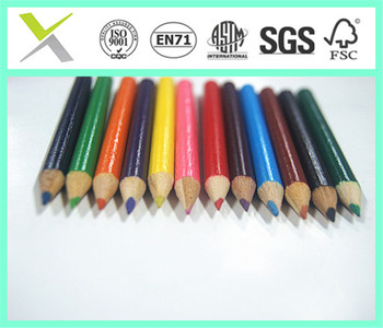 Mini 6pcs Wooden Colored Pencils In Bulk Color Pencils Buy Small Color Pencil Product On Alibabacom