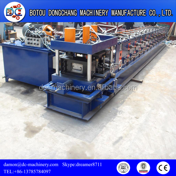 high quality fully automantic C Z purlin roll forming machine