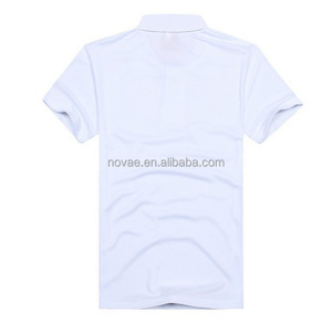 OEM Service Customized Men's Pain Blank White Polo Shirt China Import  Clothes