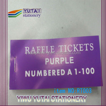 lottery game ticket raffle ticket serial numbering tickets