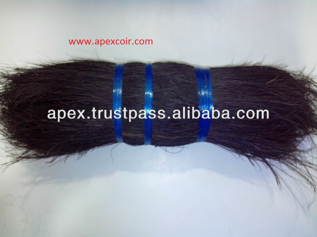 Bristle black fiber suppliers from india