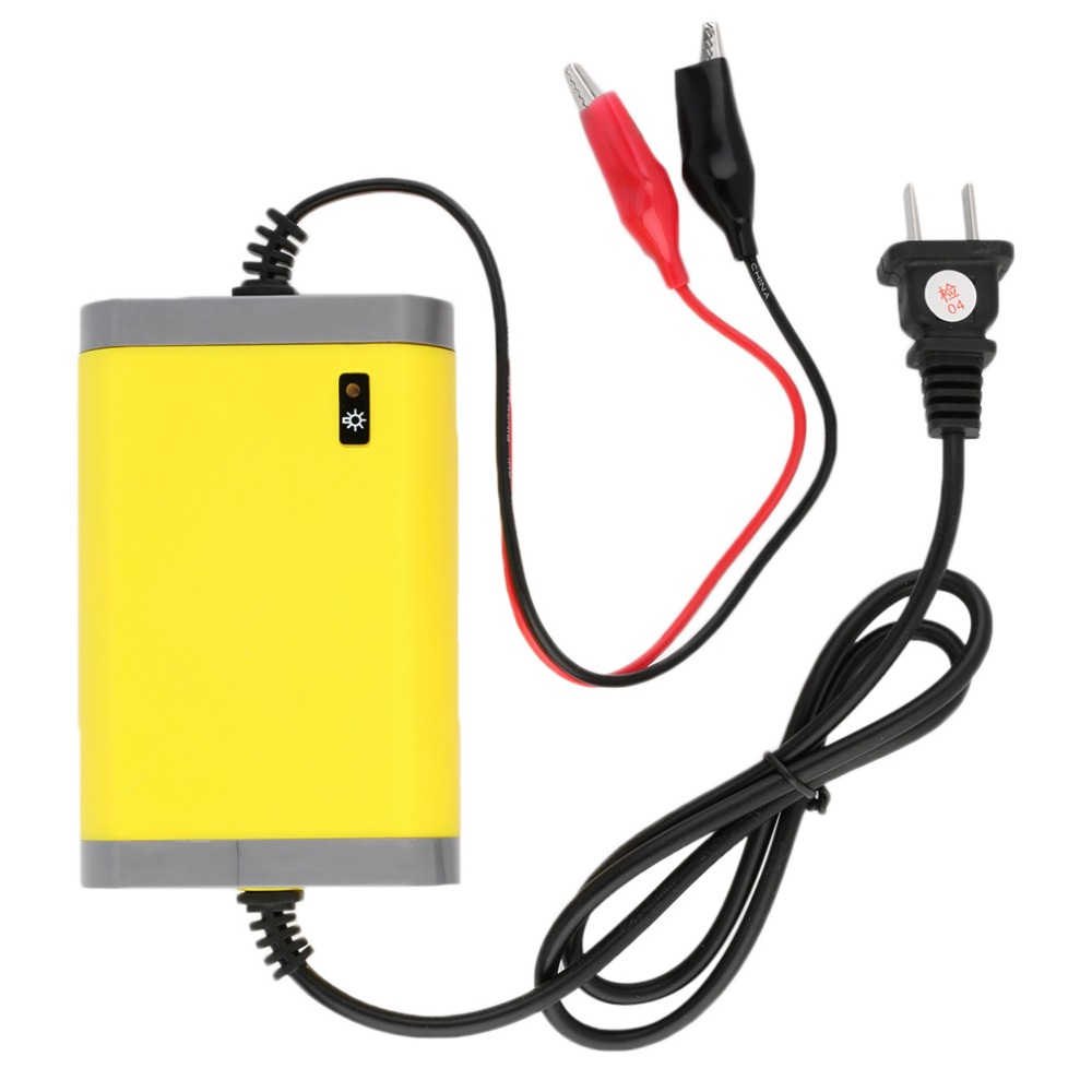 portable car battery charger 12v 2a fully automatic car motorcycle battery charger adaptor power. Black Bedroom Furniture Sets. Home Design Ideas