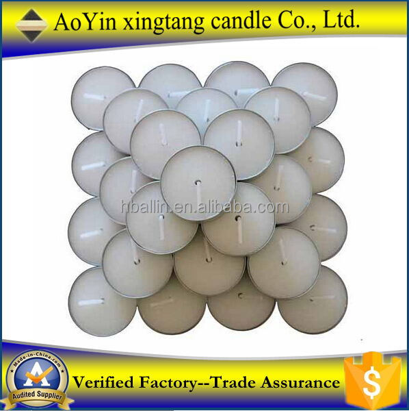 wholesale Scented candle white tealight candle with best price