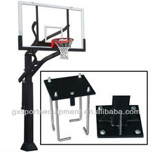GX Adjustable Inground basketball goal/system/stand