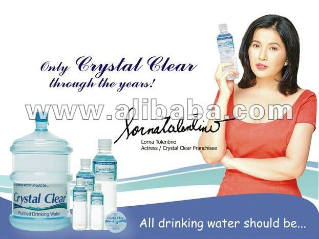 crystal clear purified drinking water buy mineral water product on