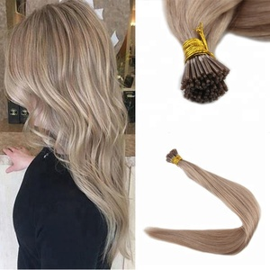 Alibaba China Wholesale Shopping Online Websites 100% Human Hair Extensions Stick I Tip Pre-bonded