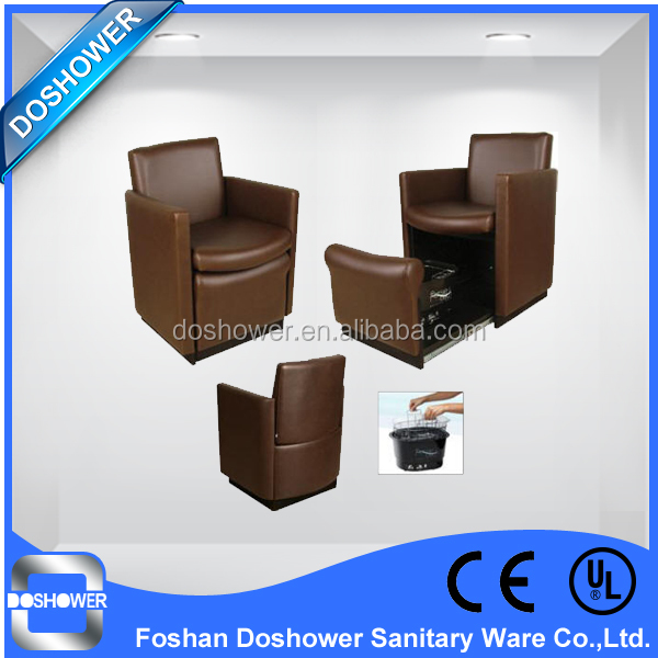 commercial pedicure foot spa massage chair for beauty salon