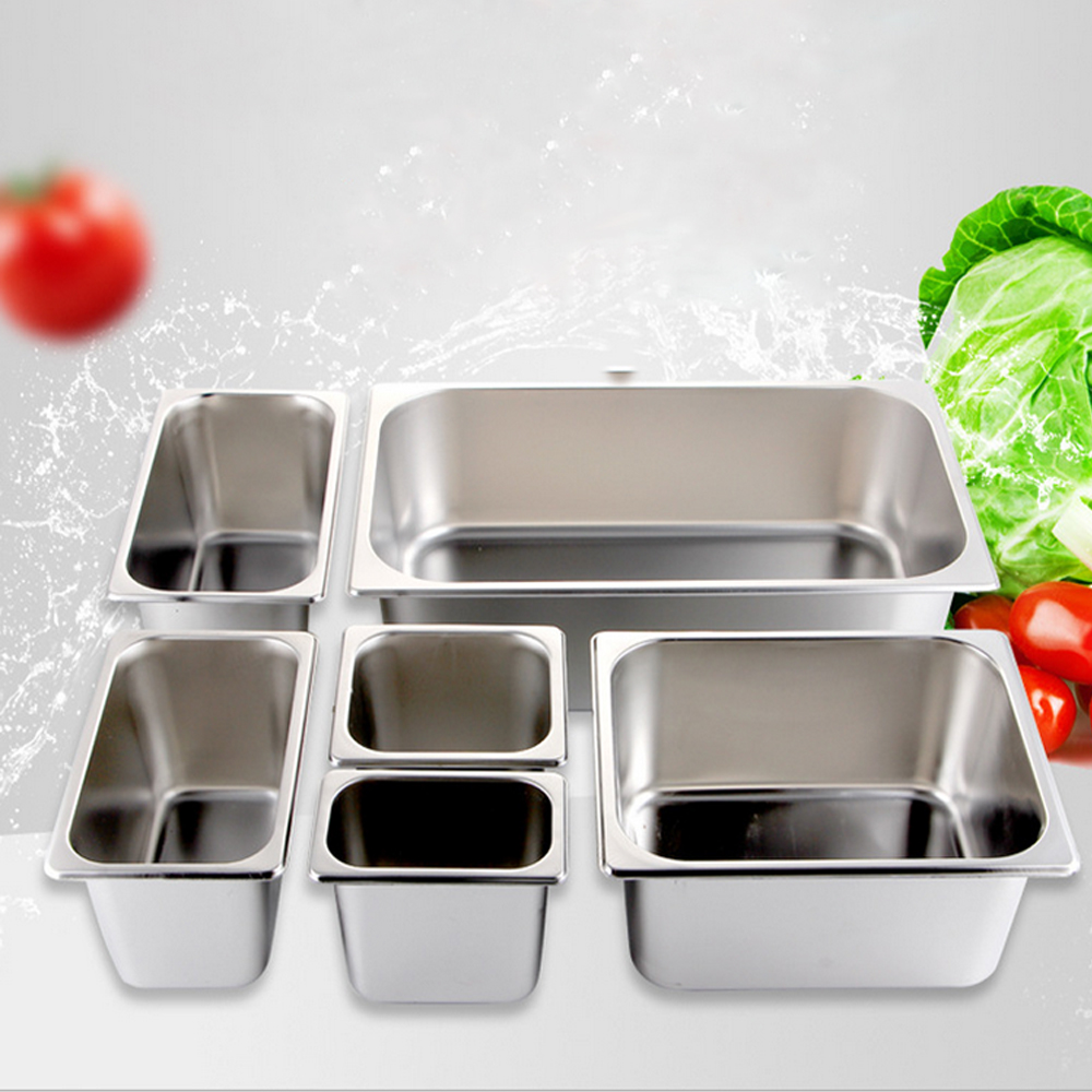 Factory Directly Stainless Steel GN Food Pan Gastronorm gn pan 1/2 65mm Catering GN Pan