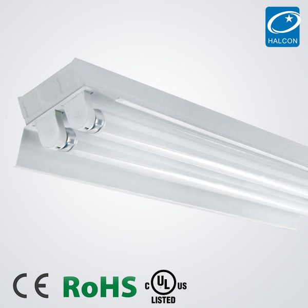 T5 T8 Led Tube Batten Lighting Fixture Ce Ul/cul Led T8 Double Tube Light  Fitting With Reflector - Buy T8 Double Tube Light Fitting With Reflector,T8