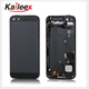 For iPhone 5 Complete Battery Door with Mid Frame Repair Part