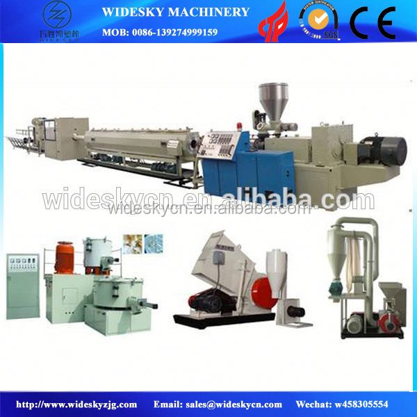 UPVC/ PVC drainage pipe production line