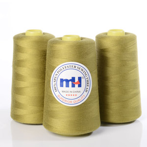 Plastic Roll 100% Spun Polyester Sewing Thread 40/2 40S/2 for High Speed Sewing Machine