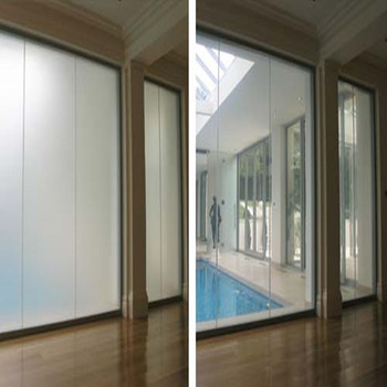 transparency control glass