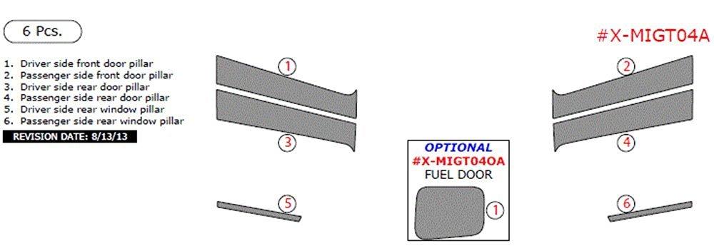 Dorman 80621 Exterior Tailgate Handle for Dodge//Mitsubishi