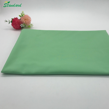 best selling solid dyed woven plain nylon cotton blend fabric for women clothing